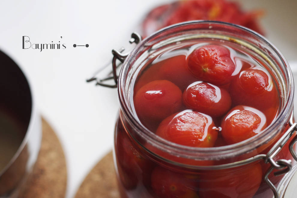 Home Cooking Recipe: Sweet and sour | iced sour plum small tomato