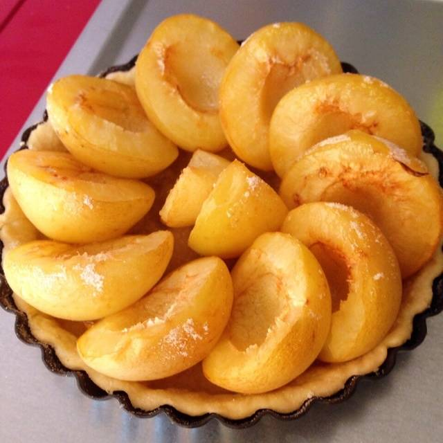 Home Cooking Recipe: Sweet apricot pie