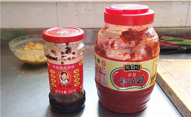 Home Cooking Recipe: Take Laoganma and Douban (no need to put it, or change the method, go see the tips below)