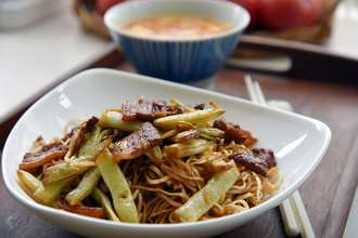 Home Cooking Recipe: The best one for the summer - the soy bean noodles