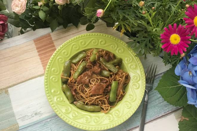Home Cooking Recipe: The delicious bean noodles are super delicious.