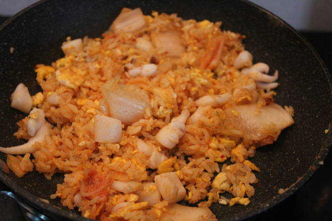 Home Cooking Recipe: The flavor of kimchi has an important effect on fried rice, so be sure to choose the kimchi that suits your taste.