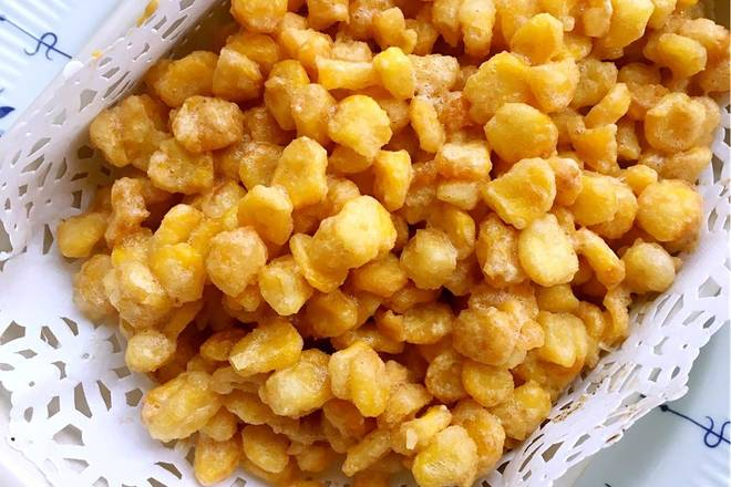 Home Cooking Recipe: The golden corn kernel is OK, is it very appetizing?