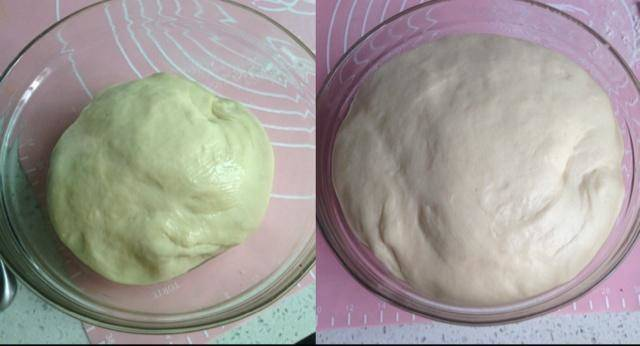 Home Cooking Recipe: The kneaded dough is subjected to the first fermentation. About 40 minutes or so, the first fermentation is completed when the volume becomes twice as large.