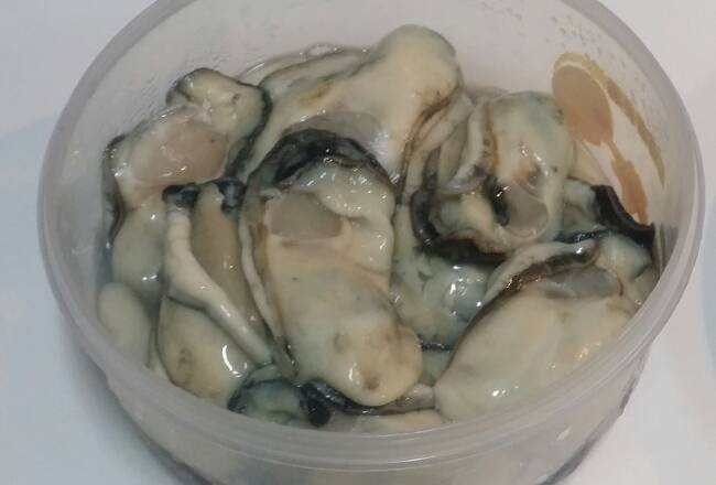 Home Cooking Recipe: The oysters are well cleaned and the step of draining the water is important.