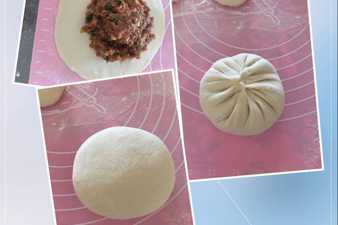 Home Cooking Recipe: The settled dough is divided into equal doses (the size can be based on personal preference, I made 14 doses), and the dough is rounded.
