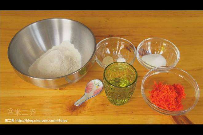 Home Cooking Recipe: Then start preparing the material for the dough part.