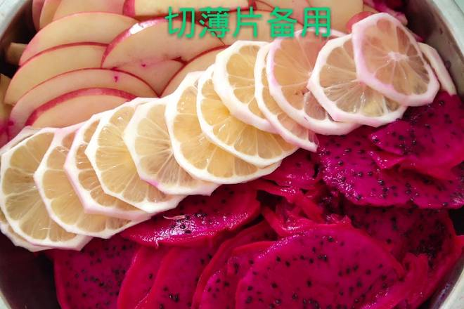 Home Cooking Recipe: Various fruit slices and good fermentation