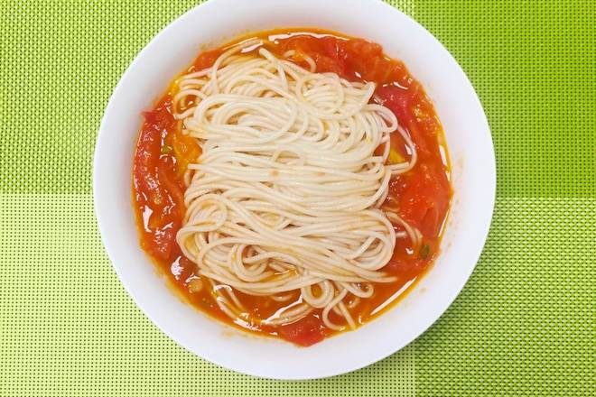 Home Cooking Recipe: Very simple and convenient appetizing tomato noodles
