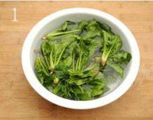 Home Cooking Recipe: Wash the spinach and soak it in light salt water for 20 minutes to remove pesticide residues more thoroughly.