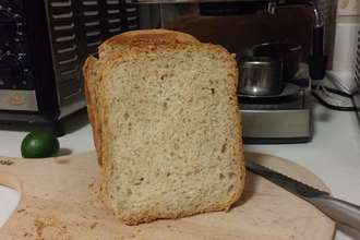 Whole Wheat Bread - Panasonic Bread Machine 105 Edition (French T65 Flour)
