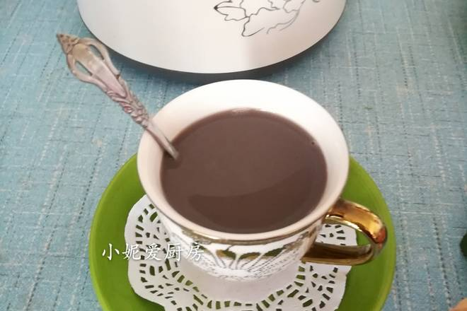 Home Cooking Recipe: Yangyu Wufa Black Bean Soy Milk is finished