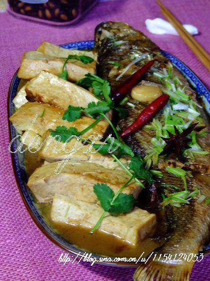 Home Cooking Recipe: Yellow croaker stewed tofu